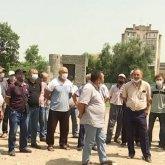 Вышедшие на забастовку алматинские метростроевцы требуют удвоения зарплаты