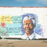 Муралы с Нельсоном Манделой нарисовали на стенах казахстанских колоний