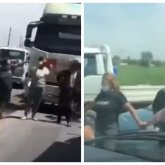 Возмущенные сельчане перекрыли дорогу в Алматинской области