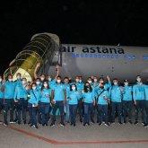 Казахстанские олимпийцы вылетели в Токио