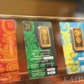 124 килограмма золотых слитков купили казахстанцы в июне