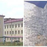 Новая школа за 1,5 миллиарда тенге начала разваливаться в Караганде