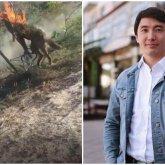 Алматинского депутата вызвали на допрос по делу о сожженной заживо собаке