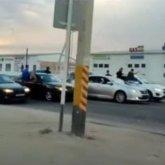 «Автобеспредельщиков» сняли на видео в Мангистауской области