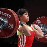 Зульфия Чиншанлозавоевала медаль на Олимпиаде