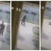 Подошел сзади, душил и повалил: ограбление пенсионера попало на видео в Атырау