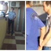 Алматинец угрожал воткнуть иглу полицейскому и спрыгнуть с 16-го этажа