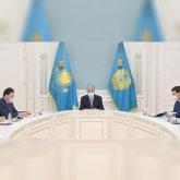 Президент Казахстана провел второе за последние дни совещание по ситуации в Афганистане