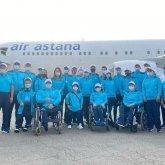 Казахстанские паралимпийцы отправились в Токио