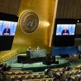 Нурсултан Назарбаев обратился к участникам заседания Генассамблеи ООН