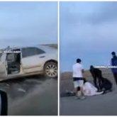 Страшное ДТП на трассе в Карагандинской области: водитель легковушки врезался в Камаз