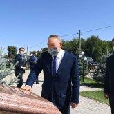 Нурсултан Назарбаев прибыл в Жамбылскую область и посетил ряд объектов