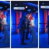 С Владимира Жириновского слетели штаны в прямом телеэфире