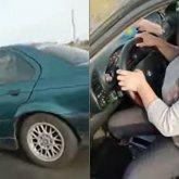 «Вы что творите»: полицейских возмутила автоледи в СКО