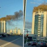 Газовая горелка могла стать причиной пожара в здании «Казахмыса» в Нур-Султане