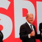Социал-демократы одержали победу на парламентских выборах в Германии