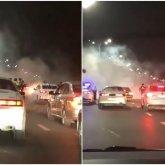Погоня в Алматы: автоугонщик устроил массовое ДТП на ВОАД