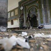 Бомба взорвалась у входа в кабульскую мечеть