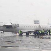 Самолет столкнулся с автомобилем в алматинском аэропорту