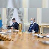 Президент Казахстана принял главу Евразийского банка развития