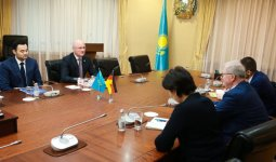Казахстан и Германия обсудили аспекты двустороннего взаимодействия