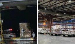 Первая партия гуманитарной помощи из Китая прибыла в Казахстан