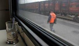 Движение пассажирских поездов приостановлено в Казахстане