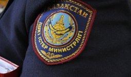 Полицейский заразился коронавирусом в Казахстане