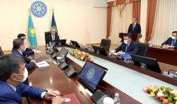 Касым-Жомарт Токаев провел расширенное заседание коллегии КНБ