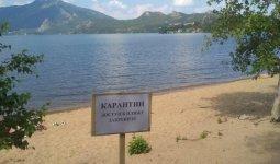 Пляжи закрыли в Боровом
