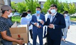 Крупная партия дефицитных медикаментов прибыла в Туркестан