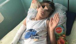 Мальчик-сирота выпал из окна в Каратау: начато расследование