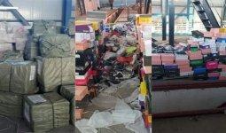 24 тысячи пар китайской обуви изъяли у алматинца