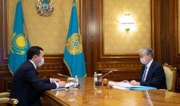 Аким Карагандинской области отчитался перед Президентом