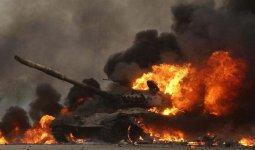 Уничтожение танков в Нагорном Карабахе попало на видео