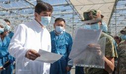 Бауыржан Байбек встретился с аграриями в Алматинской области