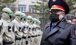 Полиция готова к усилению карантина в Казахстане – Ерлан Тургумбаев