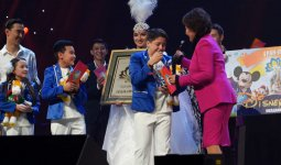 Юный казахстанец выиграл путевку в Диснейленд