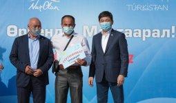 Байбек обсудил предвыборную программу Nur Otan в Туркестане