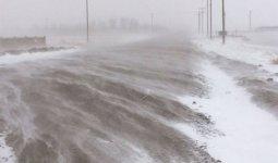 Штормовое предупреждение объявлено на большей части Казахстана