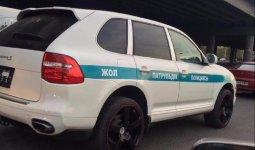 Госшопинг: Porsche и Lexus собрались ремонтировать алматинские полицейские