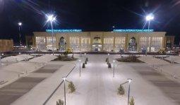Hazret Sultan Airport начал работу в Туркестане