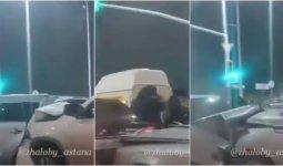 Автоледи устроила массовое ДТП в Нур-Султане