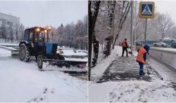 Алматы завалило снегом