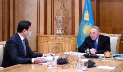Кульгинов рассказал Назарбаеву о планах строительства в Нур-Султане