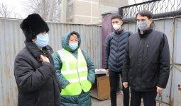 Алматинцы поблагодарили партию «Nur Otan» и коммунальные службы города