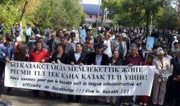 «Количество русскоговорящих пугает»: журналист призвал к перевороту в казахском языке