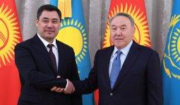 Нурсултан Назарбаев встретился с Садыром Жапаровым