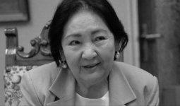 Ушла из жизни супруга Чингиза Айтматова