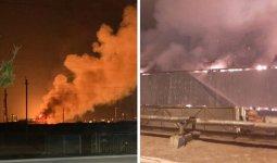 Крупный пожар на газоперерабатывающем заводе в Жанаозене: была ли утечка химикатов?